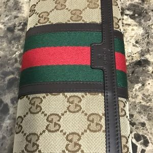 Gucci snap wallet authentic vintage style rare